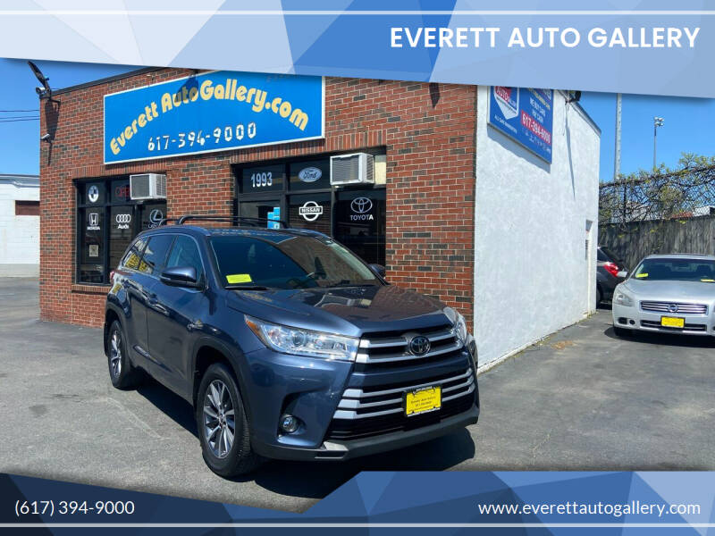 2018 Toyota Highlander for sale at Everett Auto Gallery in Everett MA
