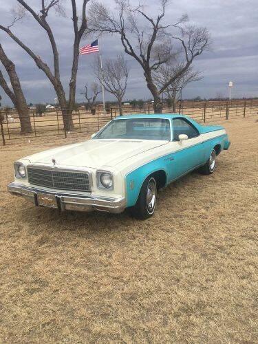 1975 Chevrolet El Camino for sale in Cadillac, MI