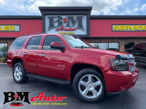 2012 Chevrolet Tahoe for sale at B & M Auto Sales Inc. in Oak Forest IL