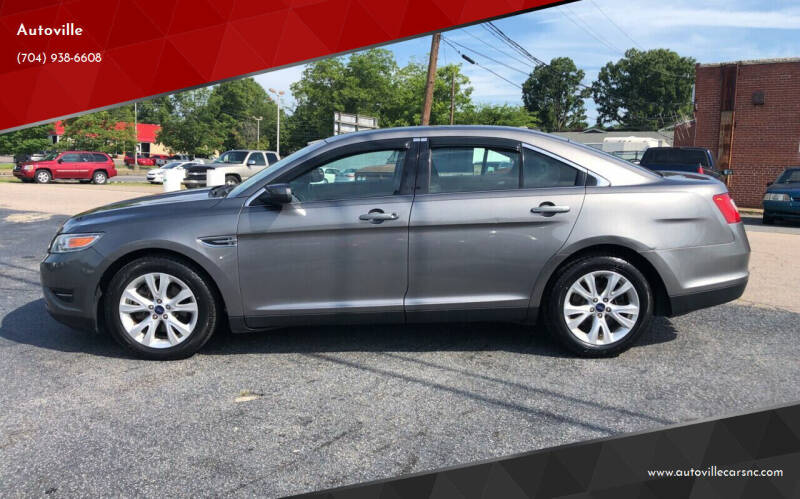 2012 Ford Taurus for sale at Autoville in Kannapolis NC
