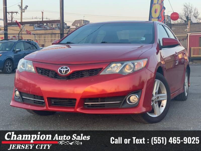 2012 Toyota Camry for sale at CHAMPION AUTO SALES OF JERSEY CITY in Jersey City NJ