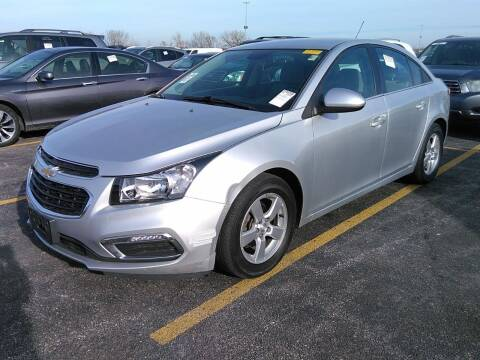2016 Chevrolet Cruze Limited for sale at Cj king of car loans/JJ's Best Auto Sales in Troy MI