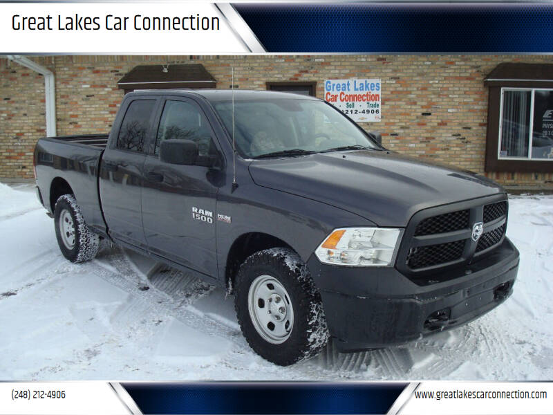 2016 RAM Ram Pickup 1500 for sale at Great Lakes Car Connection in Metamora MI