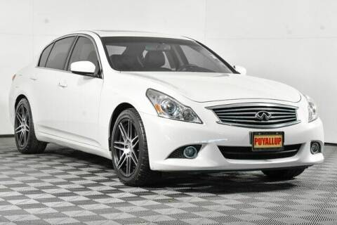 2012 Infiniti G37 Sedan for sale at Chevrolet Buick GMC of Puyallup in Puyallup WA
