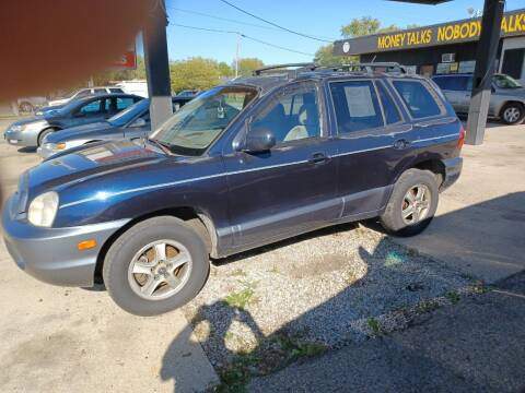 2004 Hyundai Santa Fe for sale at CASH CARS in Circleville OH