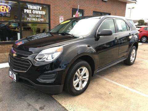 2016 Chevrolet Equinox for sale at Bankruptcy Car Financing in Norfolk VA