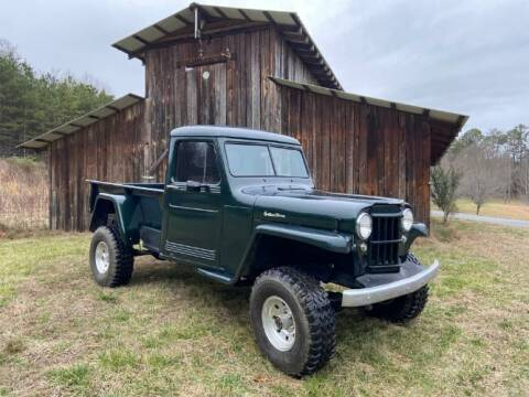 1952 Jeep Willys for sale at Classic Car Deals in Cadillac MI