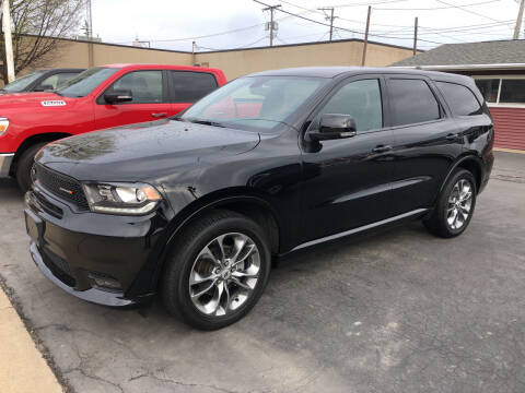 2019 Dodge Durango for sale at N & J Auto Sales in Warsaw IN