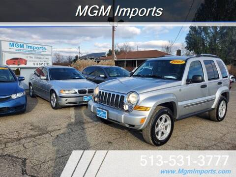 2007 Jeep Liberty for sale at MGM Imports in Cincannati OH