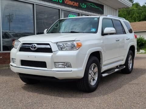 2010 Toyota 4Runner for sale at Green Cars Vermont in Montpelier VT