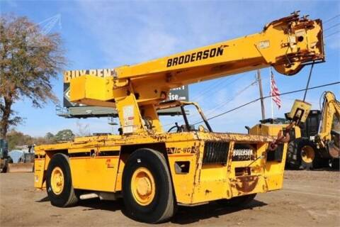 2008 Broderson IC-80-2G for sale at BLANCHARD AUTO SALES in Shreveport LA
