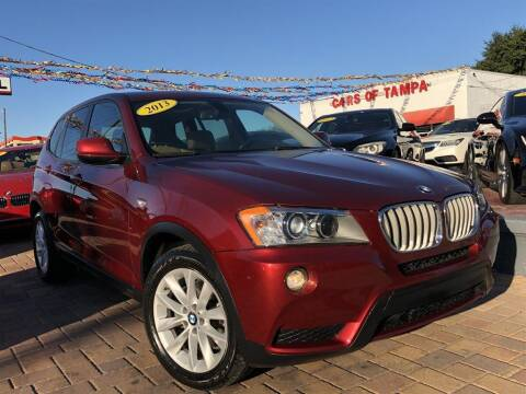 2013 BMW X3 for sale at Cars of Tampa in Tampa FL
