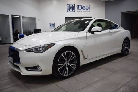 2017 Infiniti Q60 for sale at iDeal Auto Imports in Eden Prairie MN