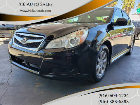2012 Subaru Legacy for sale at 916 Auto Sales in Sacramento CA