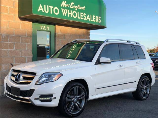 2013 Mercedes-Benz GLK for sale at New England Wholesalers in Springfield MA