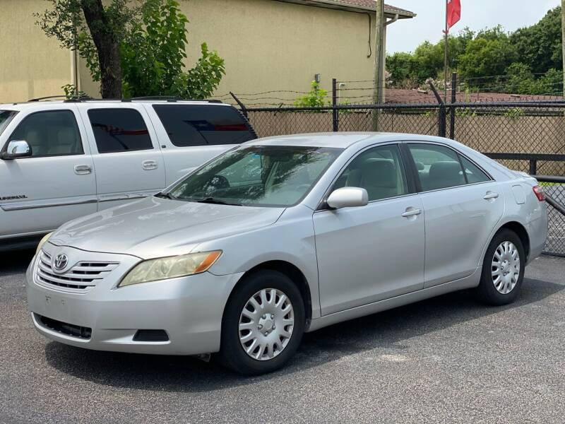 2008 Toyota Camry for sale at ASTRO MOTORS in Houston TX