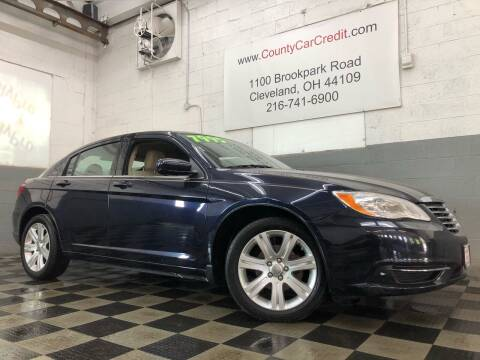 2012 Chrysler 200 for sale at County Car Credit in Cleveland OH