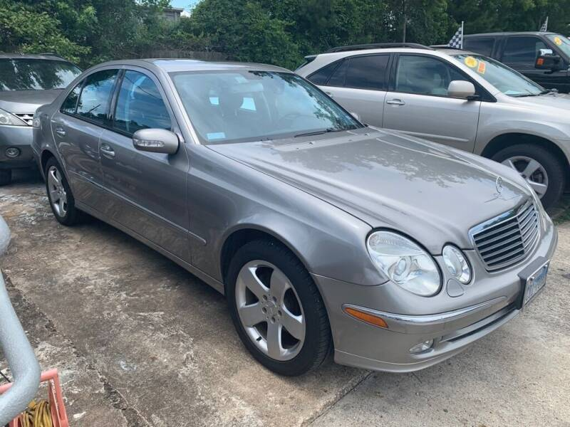 2004 Mercedes-Benz E-Class for sale at AUTO WOODLANDS in Magnolia TX