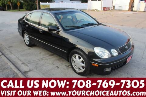 1998 Lexus GS 300 for sale at Your Choice Autos in Posen IL