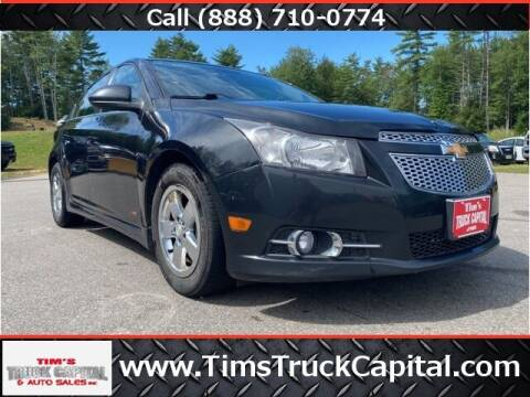 2013 Chevrolet Cruze for sale at TTC AUTO OUTLET/TIM'S TRUCK CAPITAL & AUTO SALES INC ANNEX in Epsom NH