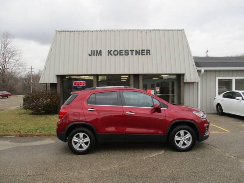 2019 Chevrolet Trax for sale at JIM KOESTNER INC in Plainwell MI