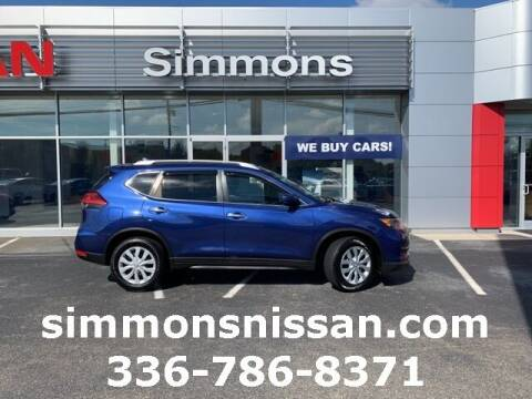 2017 Nissan Rogue for sale at SIMMONS NISSAN INC in Mount Airy NC