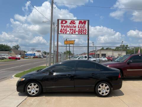2009 Honda Civic for sale at D & M Vehicle LLC in Oklahoma City OK