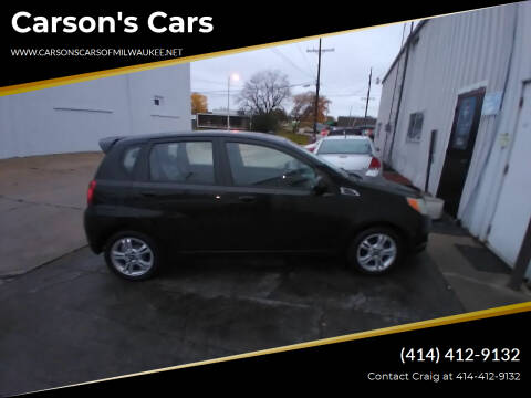 2010 Chevrolet Aveo for sale at Carson's Cars in Milwaukee WI