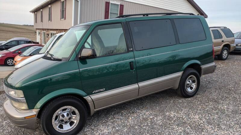 2001 Chevrolet Astro for sale at Cub Hill Motor Co in Stewartstown PA