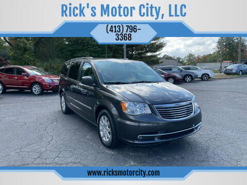 2016 Chrysler Town and Country for sale at Rick's Motor City, LLC in Springfield MA