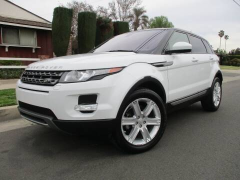2015 Land Rover Range Rover Evoque for sale at Valley Coach Co Sales & Lsng in Van Nuys CA