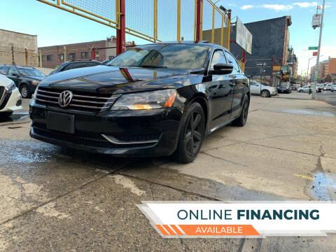2013 Volkswagen Passat for sale at Raceway Motors Inc in Brooklyn NY