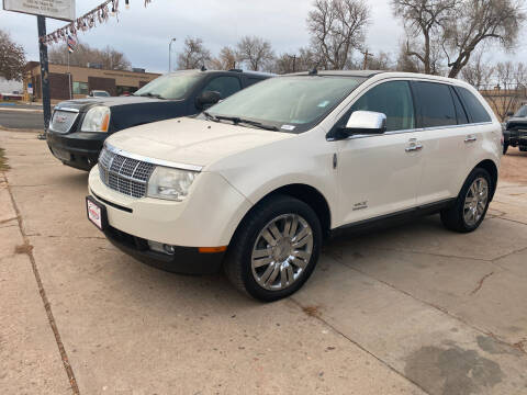 2008 Lincoln MKX for sale at PYRAMID MOTORS AUTO SALES in Florence CO