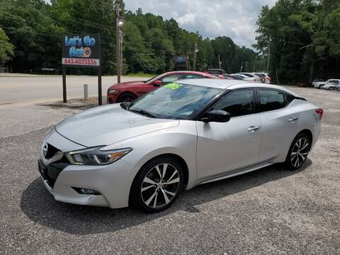 2016 Nissan Maxima for sale at Let's Go Auto in Florence SC