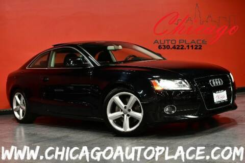 2009 Audi A5 for sale at Chicago Auto Place in Bensenville IL