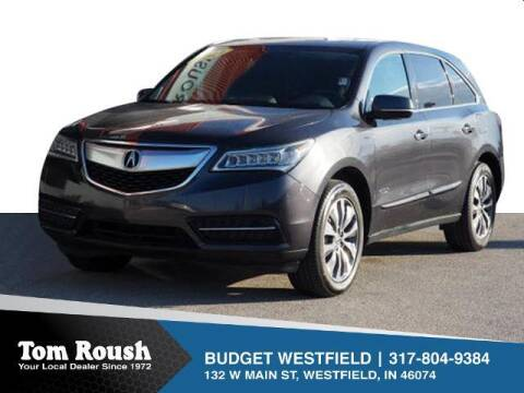 2014 Acura MDX for sale at Tom Roush Budget Westfield in Westfield IN
