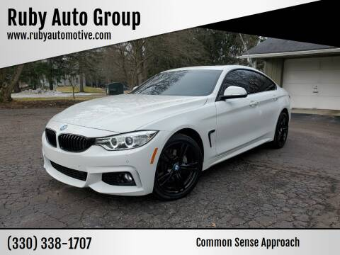 2016 BMW 4 Series for sale at Ruby Auto Group in Hudson OH