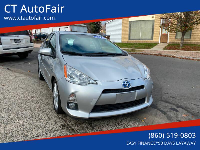 2012 Toyota Prius c for sale at CT AutoFair in West Hartford CT