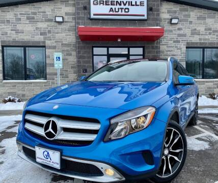 2017 Mercedes-Benz GLA for sale at GREENVILLE AUTO in Greenville WI