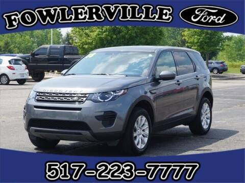 2018 Land Rover Discovery Sport for sale at FOWLERVILLE FORD in Fowlerville MI