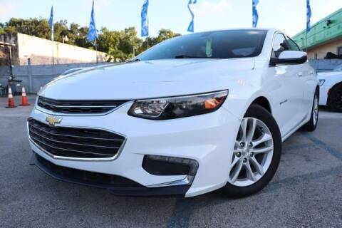 2017 Chevrolet Malibu for sale at OCEAN AUTO SALES in Miami FL