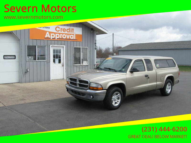 2004 Dodge Dakota for sale at Severn Motors in Cadillac MI
