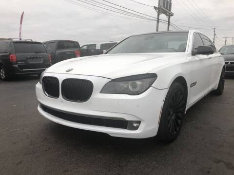 2010 BMW 7 Series for sale at Instant Auto Sales in Chillicothe OH