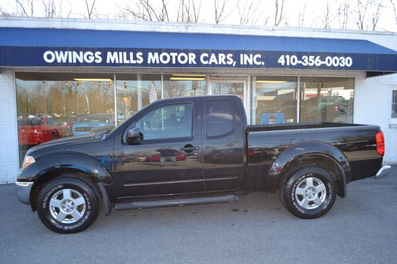2008 Nissan Frontier for sale at Owings Mills Motor Cars in Owings Mills MD