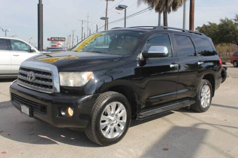 2011 Toyota Sequoia for sale at Flash Auto Sales in Garland TX