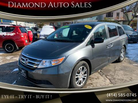 2012 Honda Odyssey for sale at Diamond Auto Sales in Milwaukee WI