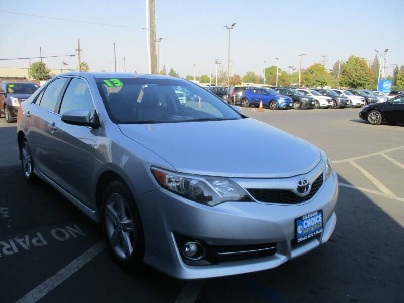 2013 Toyota Camry for sale at Choice Auto & Truck in Sacramento CA
