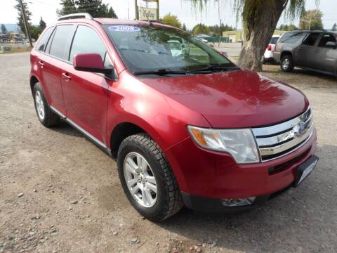 2008 Ford Edge for sale at VALLEY MOTORS in Kalispell MT