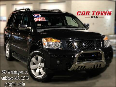 2010 Nissan Armada for sale at Car Town USA in Attleboro MA