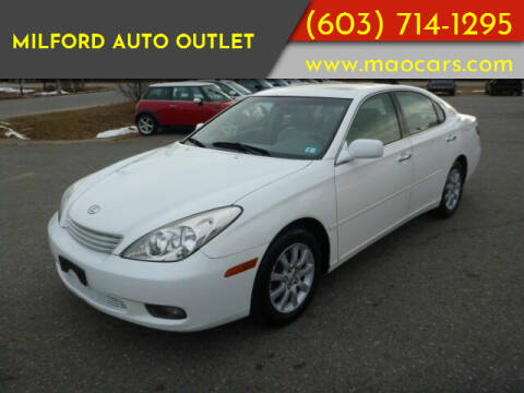 2003 Lexus ES 300 for sale at Milford Auto Outlet in Milford NH
